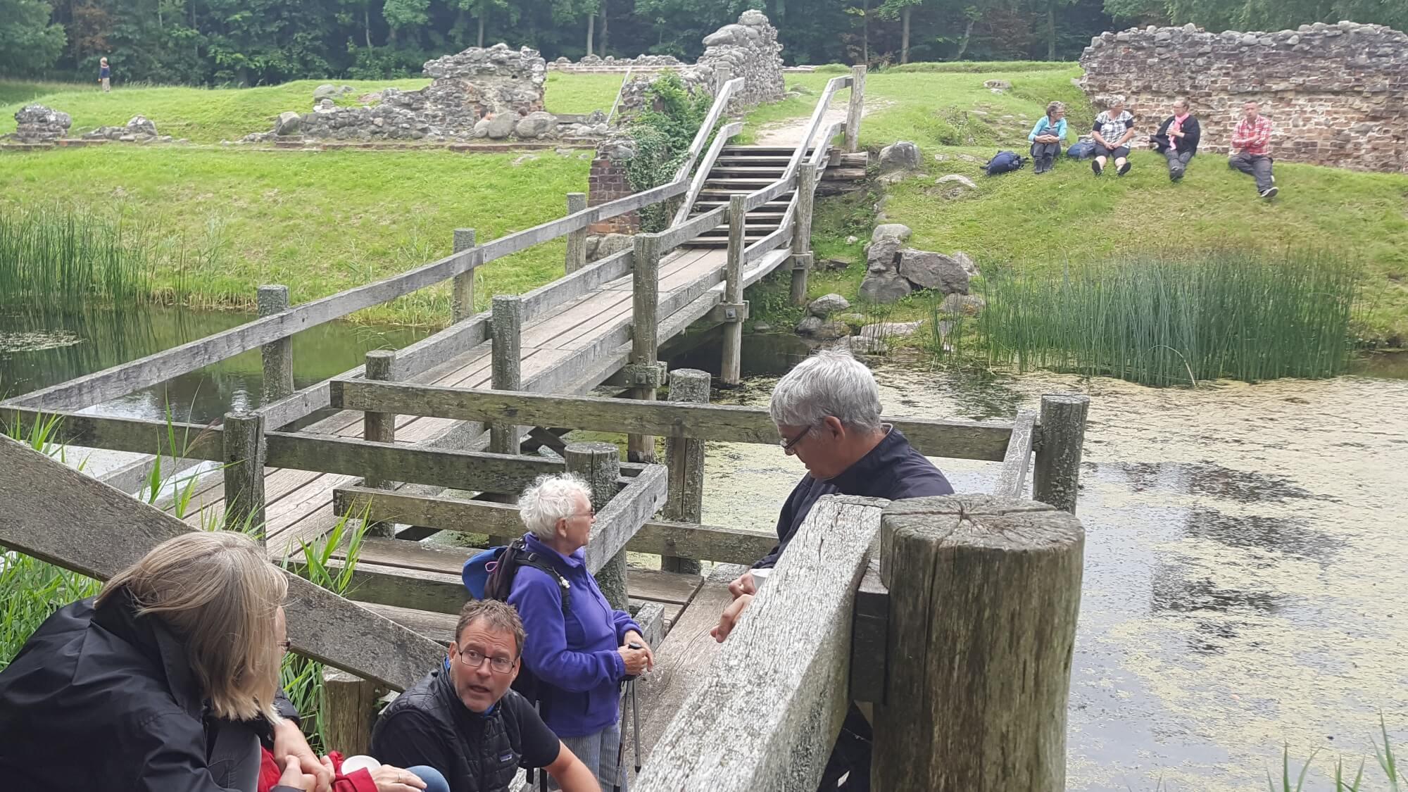 Asserbo Slotsruin i Tisvilde Hegn