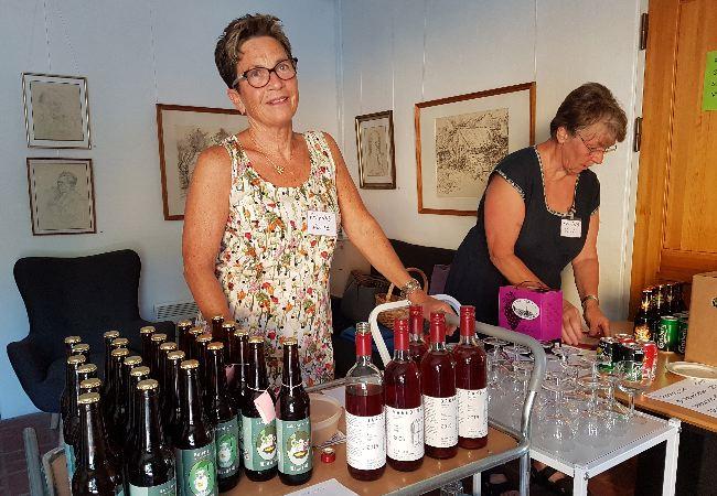 vin fra Garbolund og øl fra Det våde får