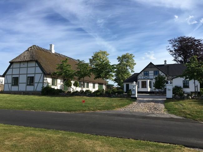 Bindingsvækshus præstegård i Maarum