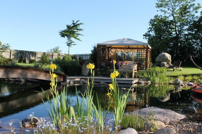 Have med sø præstegård i Maarum